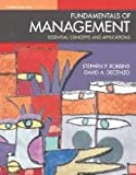 img - for Fundamentals of Management: Essential Concepts and Applications: 4th (fourth) edition book / textbook / text book
