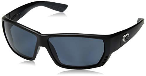 Costa Del Mar Tuna Alley Sunglasses Matte Black/Gray ()