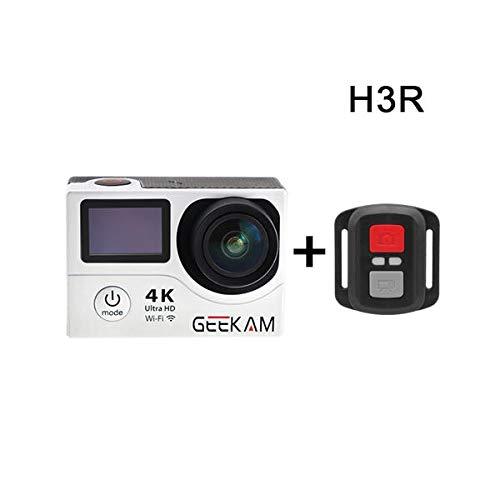 GEEKAM H3R Waterproof 4K WiFi Ultra HD 30M Sport Video Action Camera - Silver