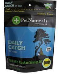 Daily Catch For Dogs Pet Naturals Of Vermont 30 Chewable