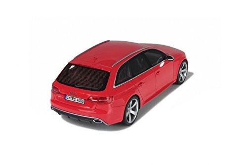 Fertigmodell B8 GT Spirit 1:18 2012 Avant Audi RS4 rot Modellauto