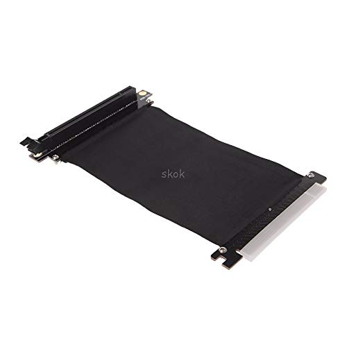 - V2AMZ - PCI Express3.0 16x High Speed Riser Card Flexible Cable Extension Adapter-Angled MAY11 ping
