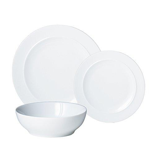 Denby 12-Piece Dinnerware Set, White