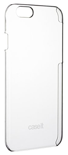 Caseit Invisible Hard Shell Schutzhülle Case Cover Durchsichtig Unsichtbar für iPhone 6  4,7 Zoll - Transparent Klar