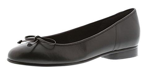 Gabor Women's Shoes 65.103.87 Women's Ballet Flats, Ballerina Black (Black), EU 6.5