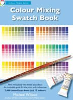 Color Mixing Swatch Book