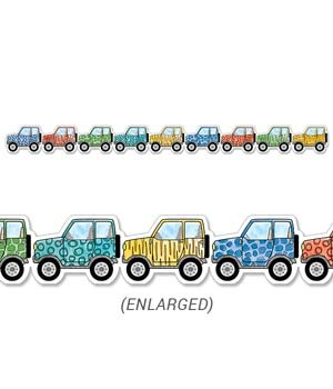 Creative Teaching Press Border Safari Friends Off-Road Vehicles, Ctp 8340 -