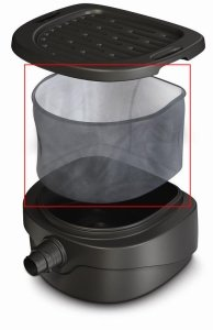 AquascapePRO 30095 Replacement Debris Net for Downspout Filter (Downspout Replacement)