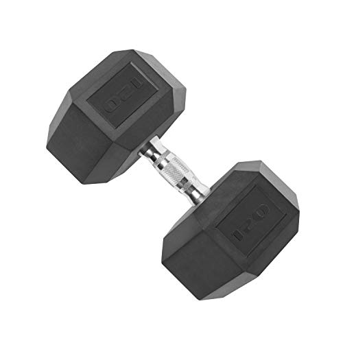 Cap Coated Dumbbell Weight, Single, Various Sizes