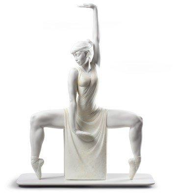 Lladro Girl Figurine Porcelain 9025 CONTEMPORARY DANCER 01009025 - Widenshop - Best Gift for Birthdays, Holidays or any other Occasion Collectibles Home Treasure Indoor decorations - New Issue 2017 ()