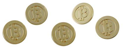 Bitcoin BTC Logo Gold Coin Lapel Pin (10 Pins)
