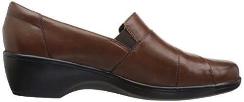 Clarks Womens May Marigold Mocassino Slip-on Marrone Liscio