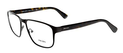 Prada PR56SV Eyeglass Frames LAH1O1-55 - Matte Brown PR56SV-LAH1O1-55 ()