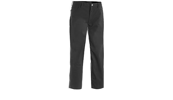 Steel Grey 28 33 Edwards Mens Stretch Zipper Pocket Pant