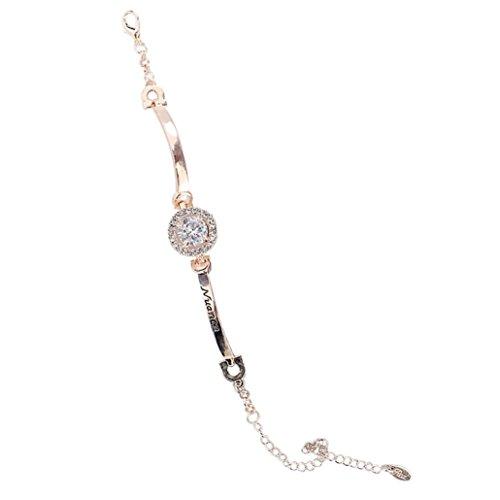 Celendi_ Jewelry Women Zircon Sparkling Crystal Alloy Bangle Bracelet for Wedding (Sparkling Bracelet Diamonds)