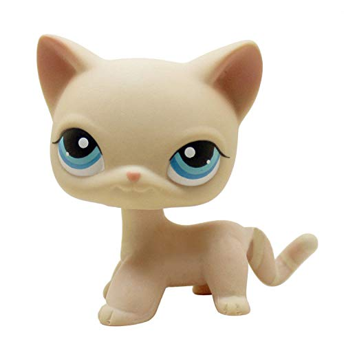 Amazon com: ZAD Littlest Pet Shop LPS Beige Cream Short Hair