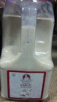 Chef's Quality Granulated Garlic 7 LB