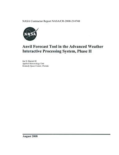 Anvil Forecast Tool in the Advanced Weather Interactive Processing System, Phase II