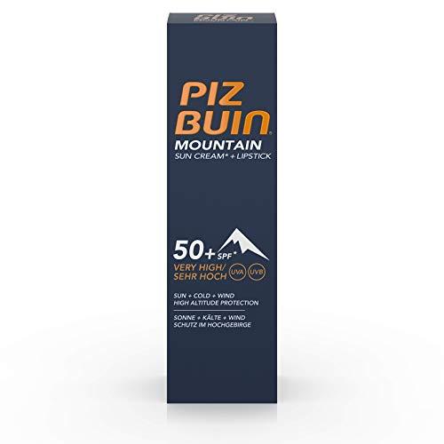 Piz Buin Mountain Sun Cream + Lipstick SPF 50+ 20 ml