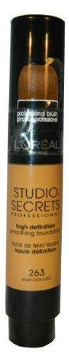 L'Oral Paris Studio Secrets High Definition Smoothing Foundation 011 Rosy Porcelain 17 ml by L'Or?al Paris (English Manual)