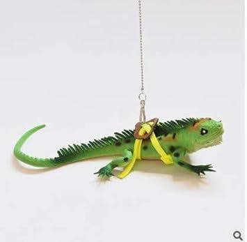 Beito arnés del animal doméstico ajustable Correa del reptil ...