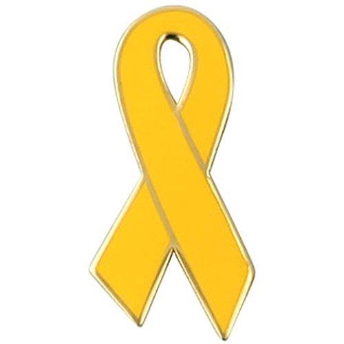 Yellow Ribbon Lapel Pin