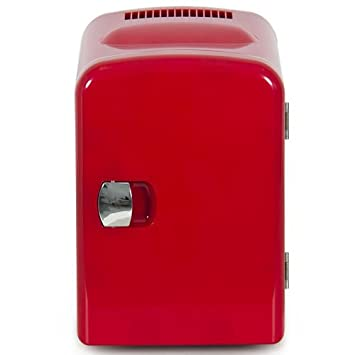ShopperChoice Portable Mini Fridge Cooler And Warmer Auto Car Boat Home  Office Ac U0026 Dc RED