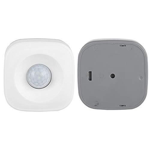 Detector de Movimiento por Infrarrojos con Cobertura Total Libre de Puntos Ciegos Adecuado para Uso en Interiores o Exteriores Sensor de Movimiento Pir