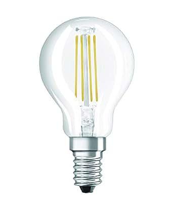 Osram Retrofit Classic P Lámpara LED E14, 4 W, Blanco, 1 unidad ...