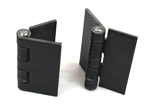 New Heavy Duty Weldable Pair 4'' x 4'' Gate Hinges-Steel Butt Hinge /Hvy Gates Doors by Garden Gates