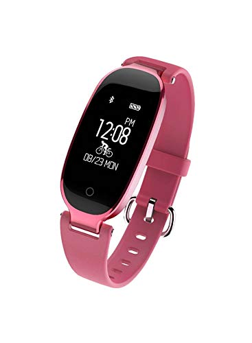 S3 Impermeable Deportes Bluetooth Smart Pulsera Reloj Pulsómetro Monitor para Mujer: Amazon.es: Electrónica