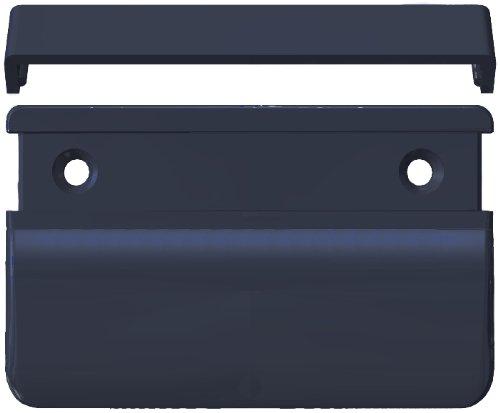 schiefergrau RAL 7015 70x50x12 Balkont/ürgriff eckig f/ür den Au/ßenbereich 10 ST