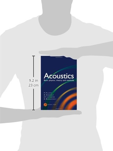 Acoustics: Basic Physics, Theory, and Methods by Academic Press