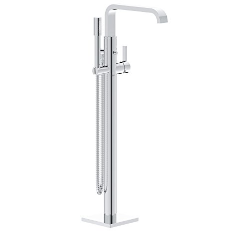 Allure Floor-Mounted Tub Filler With Hand Shower