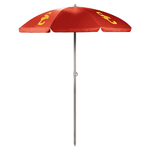 NCAA USC Trojans Portable Sunshade Umbrella Red  sc 1 st  Amazon.com & USC Canopy: Amazon.com