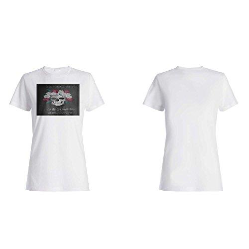 HAPPY HALLOWEEN Horror Party NOVEDAD DIVERTIDA NUEVO camiseta de las mujeres j87f