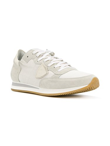 outlet low price Philippe Model Men's TRLUW018 White Fabric Sneakers outlet store cheap price clearance visa payment rRIdT