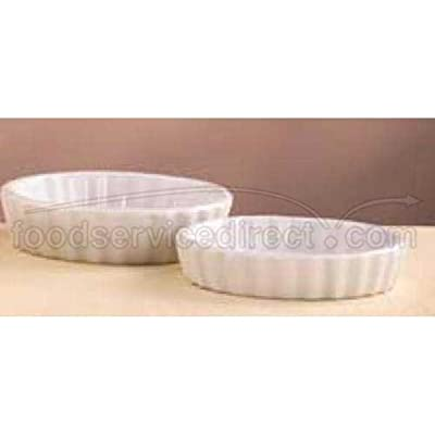Click for World Tableware Bedrock Bright White Round Creme Brulee, 8 Ounce -- 24 per case