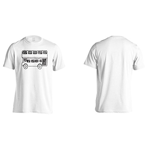 Neue Zwei Deck Bus London Herren T-Shirt m375m