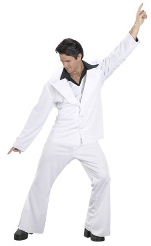 [Saturday Night Fever Costume - Standard - Chest Size 33-45] (Saturday Night Fever Costume For Adults)