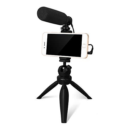 Smartphone Camera Video Microphone Kit