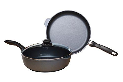 Swiss Diamond 628i Induction 3-Piece Cookware Set