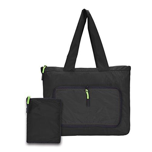 Lightweight Shopping Bag for Women Handbag Shoulder Bags Convenient Daily Purse,Black