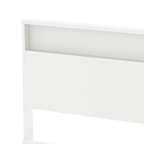 South Shore Holland Headboard with Shelf, Full/Queen 54/60-Inch, Pure White by South Shore (Image #7)