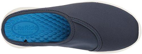 Literide Mule Enfiler Marine À Crocs Femmes Bleu Imperméables Chaussures gW54COq
