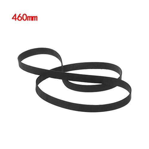 (Rubber Drive Belt Turntable Transmission Strap Replacement for Phono Tape CD Accessories 5MM)