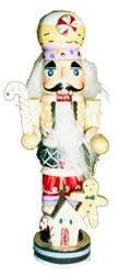 Gingerbread Man Nutcracker Wooden Christmas Ornament...