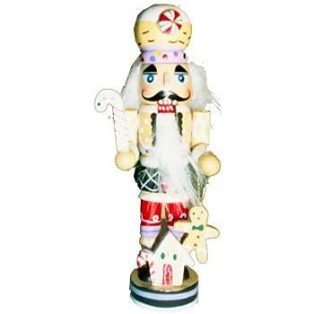 Amazon.com: Gingerbread Man Nutcracker Wooden Christmas Ornament ...