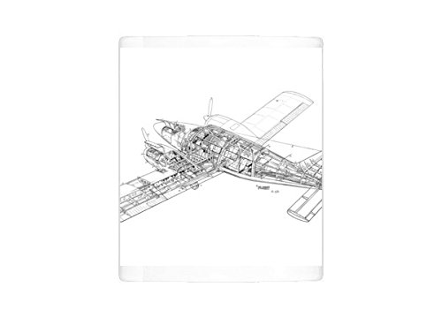 Mug of Piper PA-34 Seneca Cutaway Drawing (1569473) for sale  Delivered anywhere in USA
