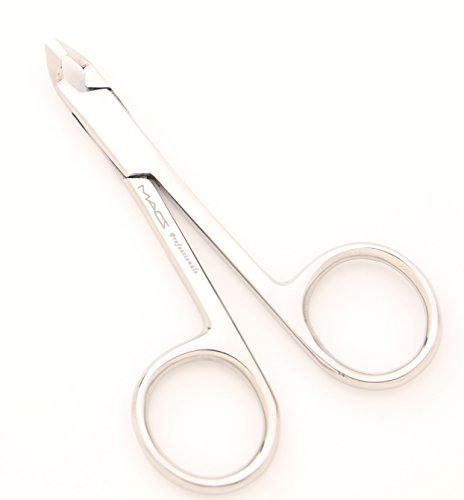 (MACS CUTICLE NIPPER SCISSORS STYLE ,Cuticle Clipper, Nail Clipper,With Scissors Style,Mini Clipper/Nipper -Half Jaw Professional Quality, Stainless Steel -4-029)